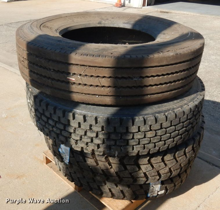 (4) recapped tires