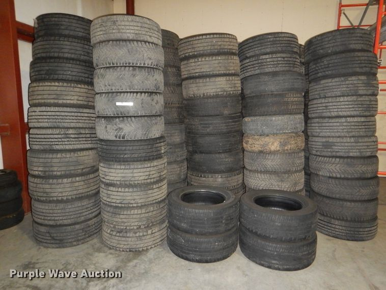 Approximately 220 tires