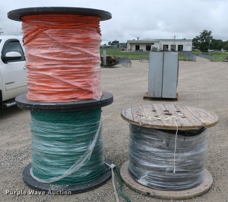 (3) spools of puller rope
