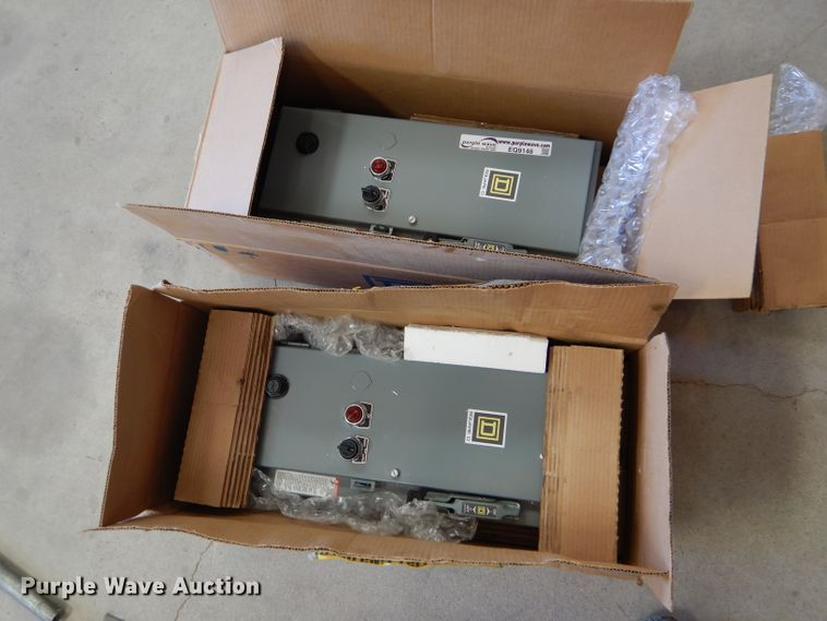 AC combination motor starters