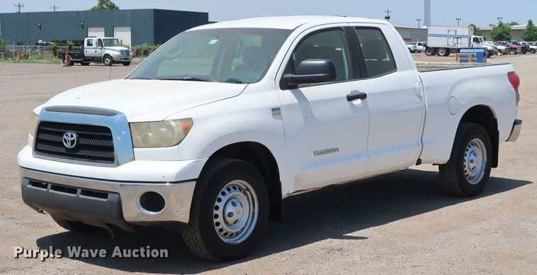 2008 Toyota Tundra SR5 Double Cab pickup truck
