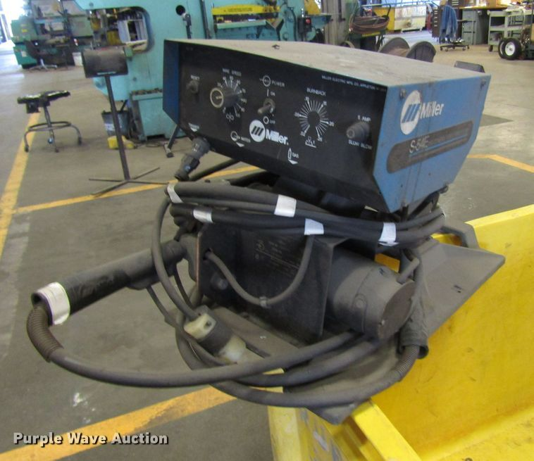 Miller S-54E constant feed wire feeder