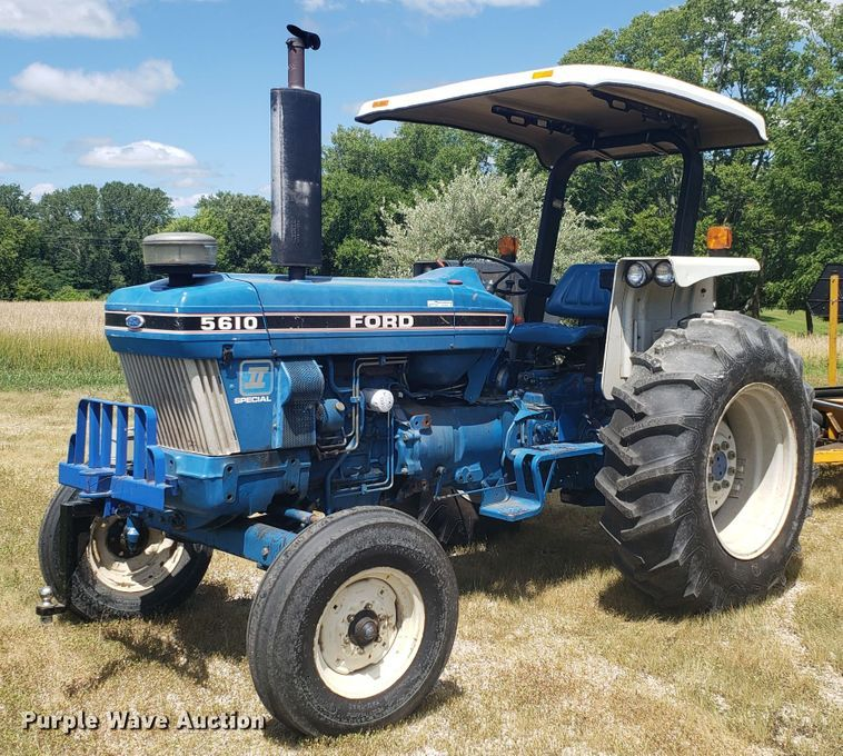 Ford 5610 tractor