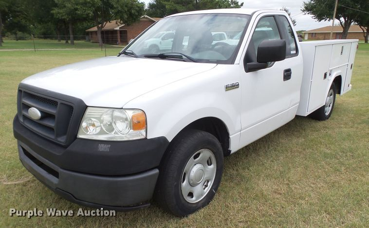 2007 Ford F150 utility bed pickup truck