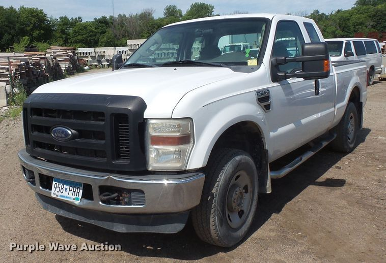 2008 Ford F250 Super Duty SuperCab pickup truck