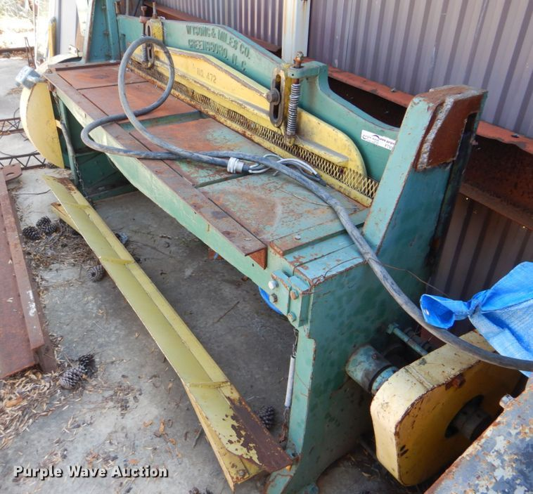 Wysong & Miles Co shear
