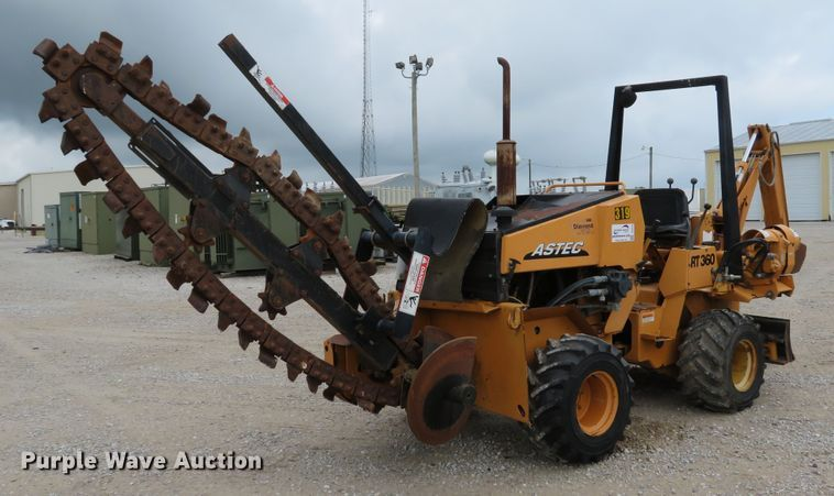 2005 Astec RT360 trencher