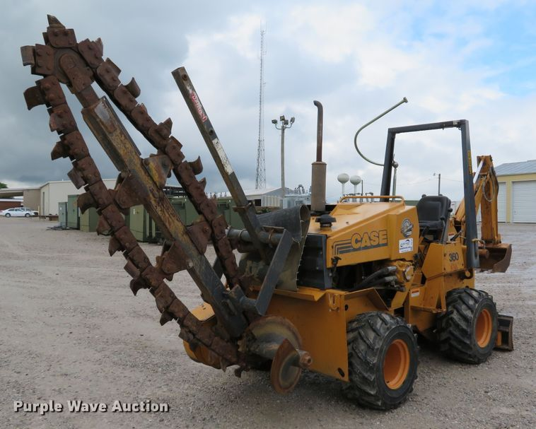 1997 Case 360 trencher