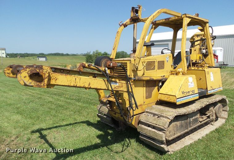 1997 Vermeer FLX115 vibratory cable plow
