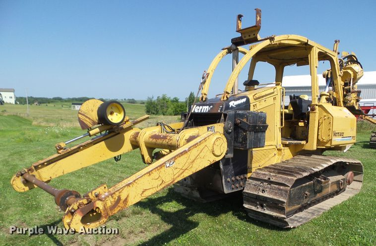 1999 Vermeer P125 vibratory cable plow