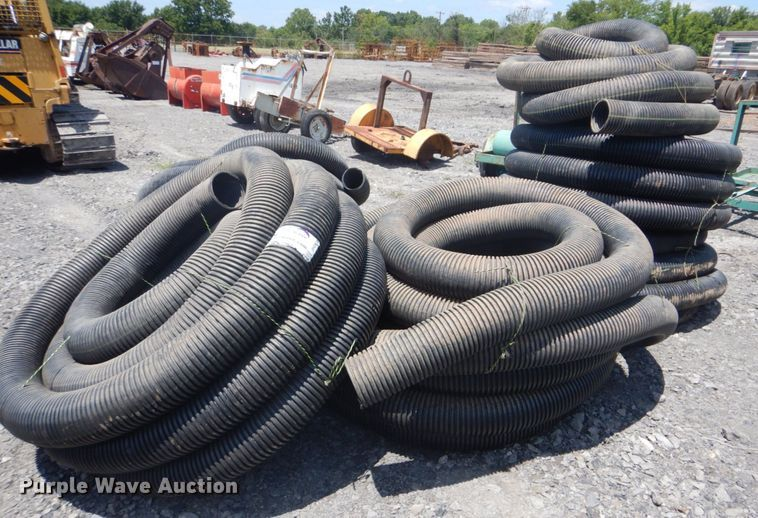 Approximately 450' non-perforated pipe
