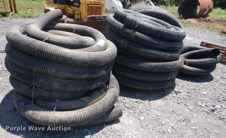 Approximately 500' perforated pipe