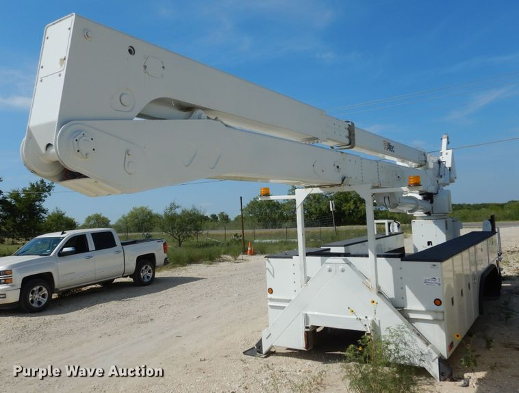 1999 Altec A77T bucket truck utility bed
