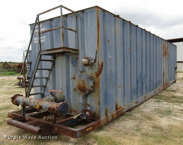 2007 Water Boy Products frac tank trailer