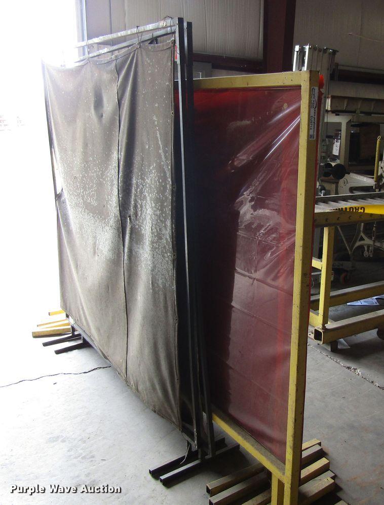 (8) welding screens