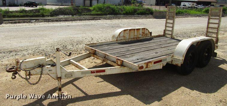 1999 Gronkite 4200EAL utility trailer