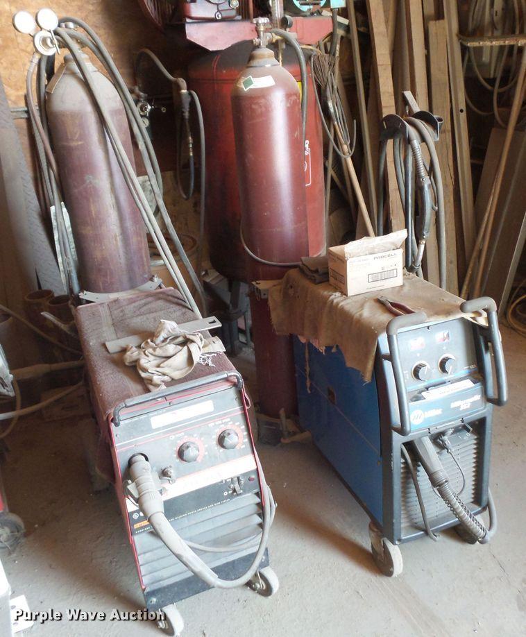 (2) wire welders