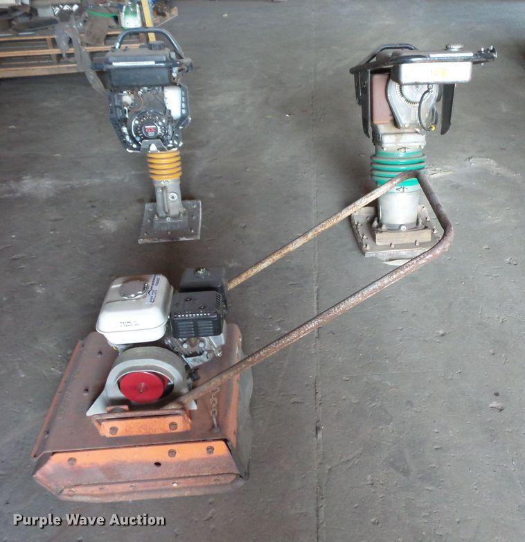 (3) plate compactors
