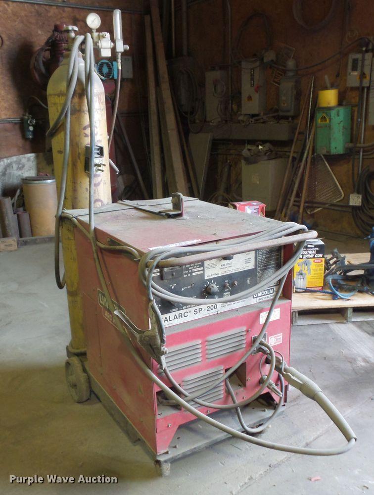 Lincoln Idealarc SP200 wire welder