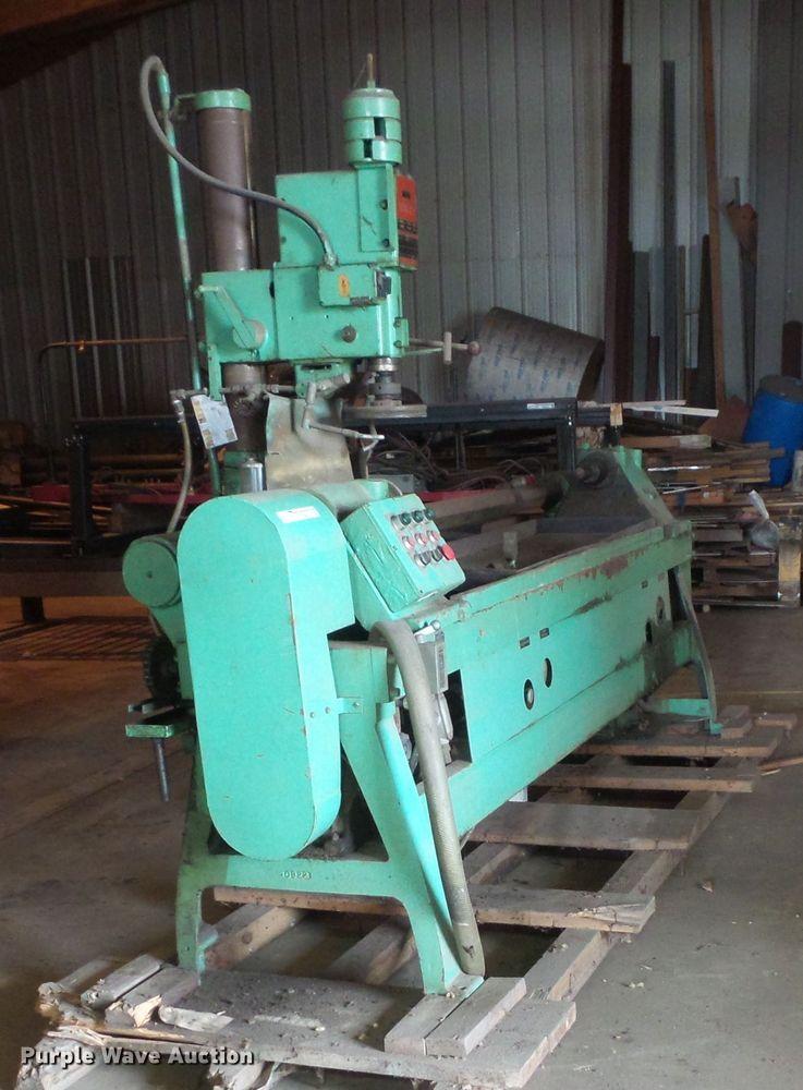 ABC Machinery Corp APL-65 metal lathe
