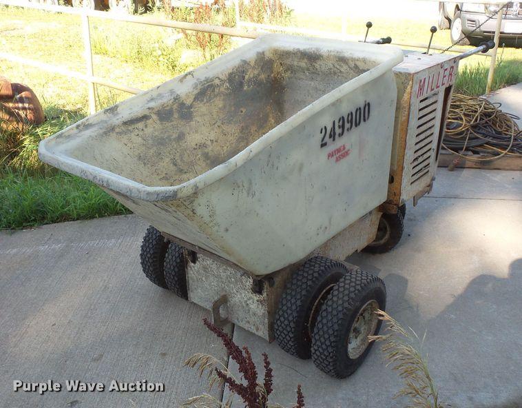 Miller MB11 concrete buggy