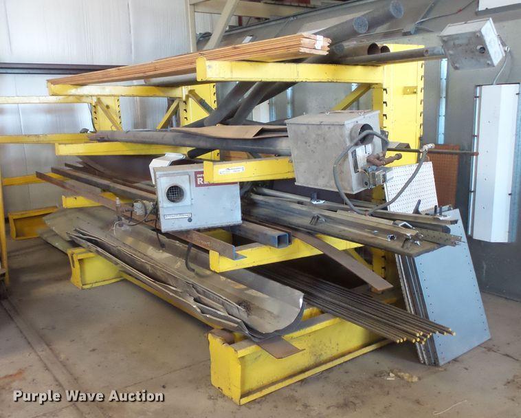 Steel rack and steel