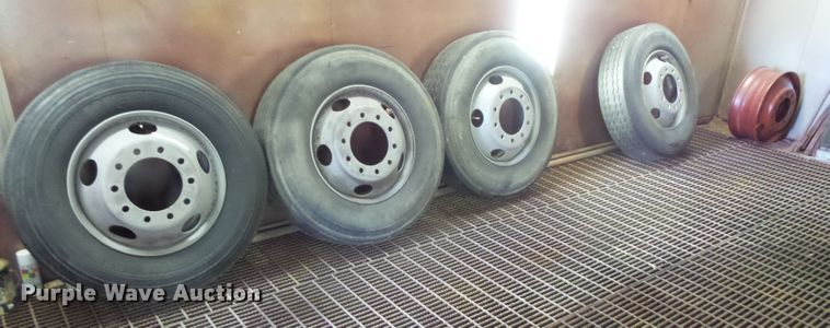 (9) tires and wheels