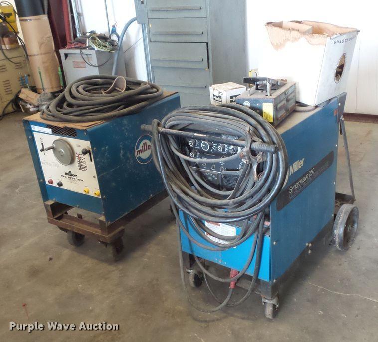 (2) Miller welders