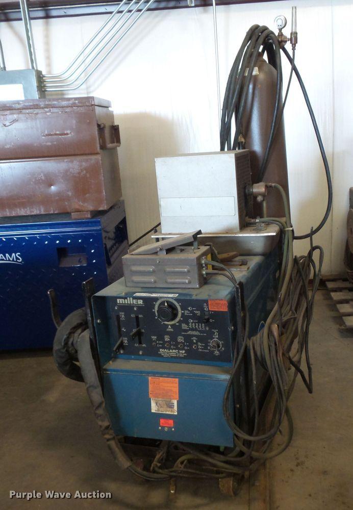 Miller Dialarc HF AC/DC wire welder