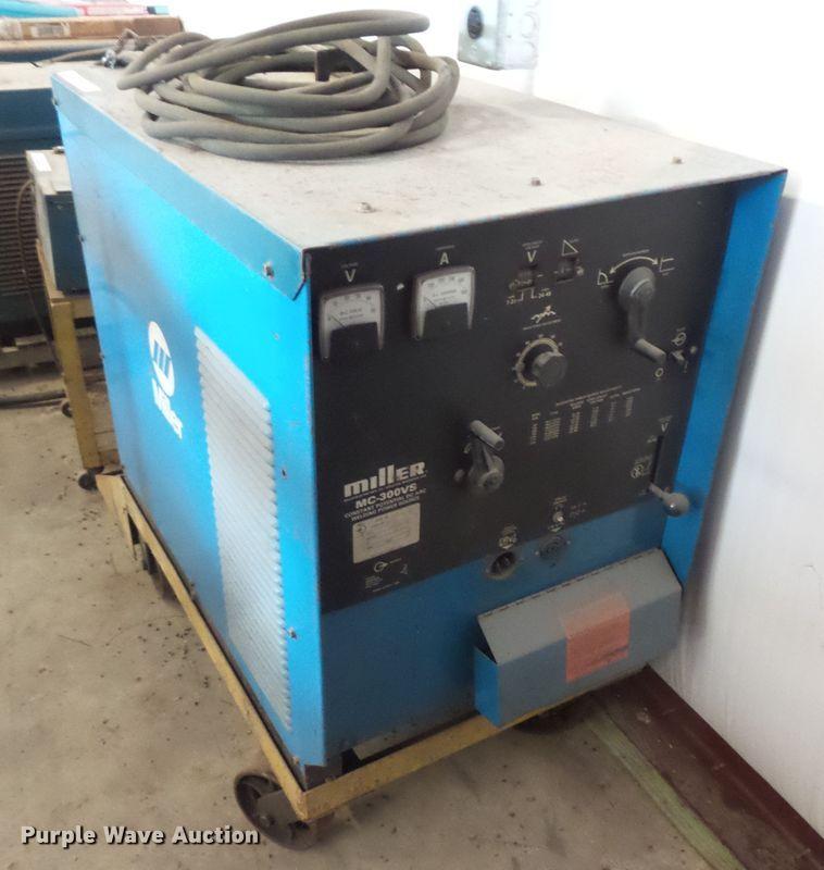 Miller MC-300VS DC welder