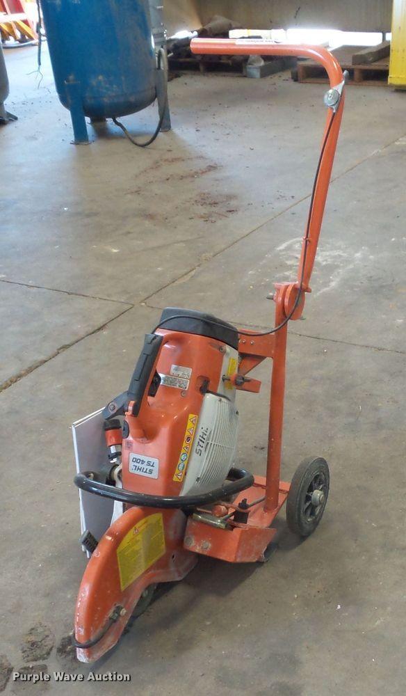 Stihl TS400 concrete saw