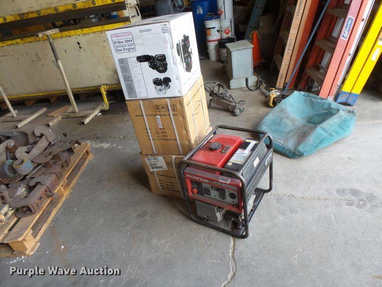 Generator and engines