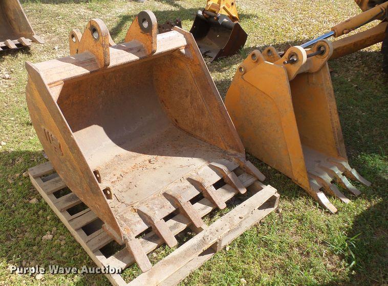 (2) backhoe buckets