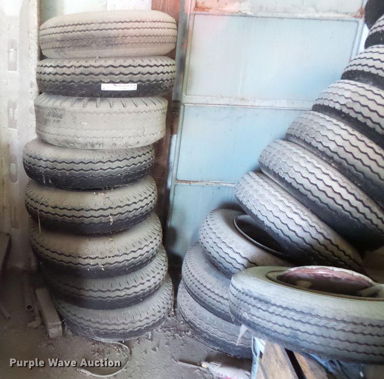 (16) 8-14.00 tires