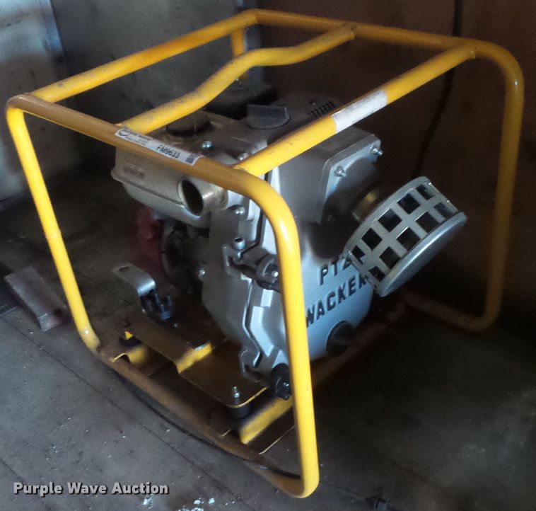 (2) Wacker water pumps