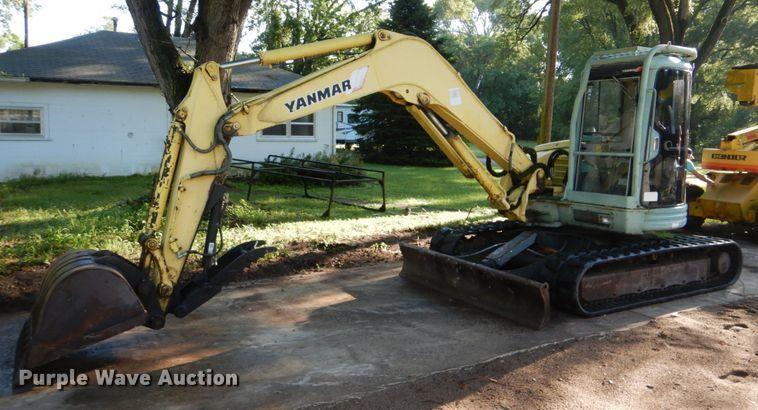 1999 Yanmar ViO70 mini excavator