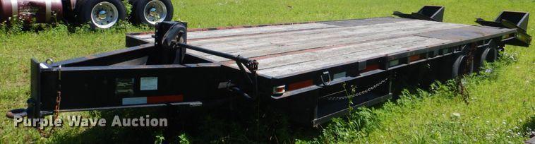 1989 Holden Industries TDO2024 equipment trailer
