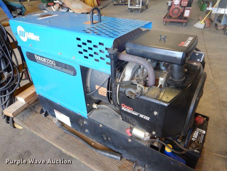 Miller Bobcat 225G CC/CV AC/DC welder/generator