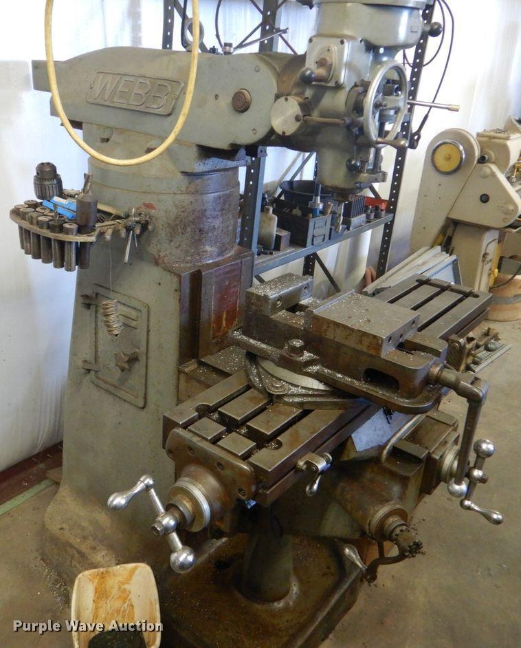 Webb 2S drill press