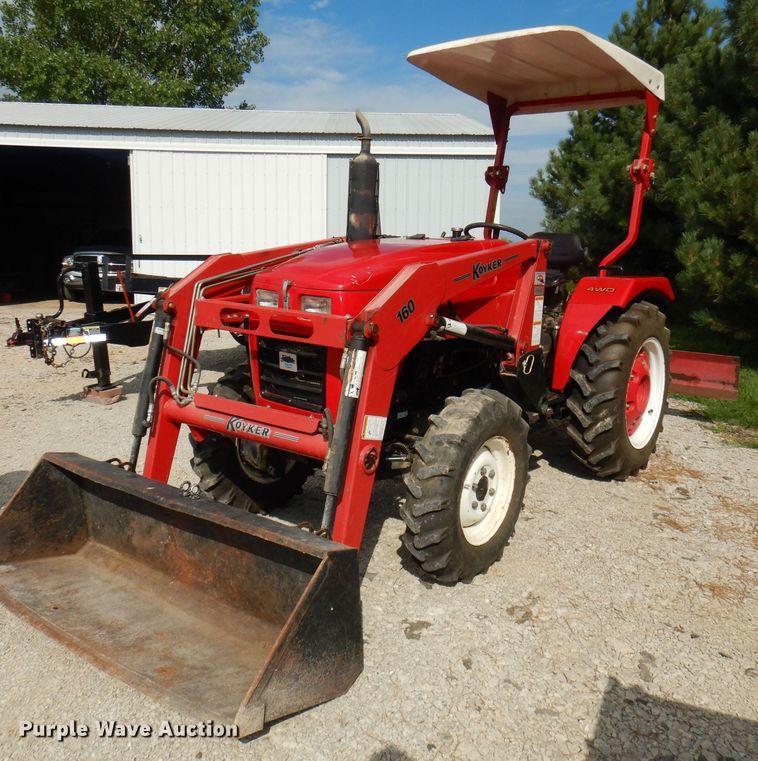 2004 Farm Pro 2430 MFWD tractor