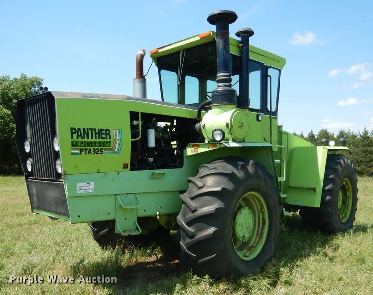 1980 Steiger Panther III PTA325 4WD tractor