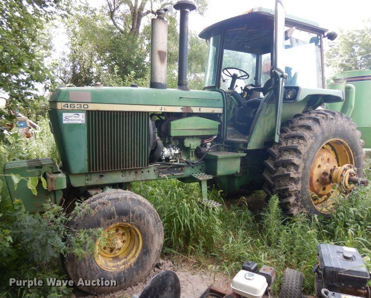 1976 John Deere 4630 MFWD tractor