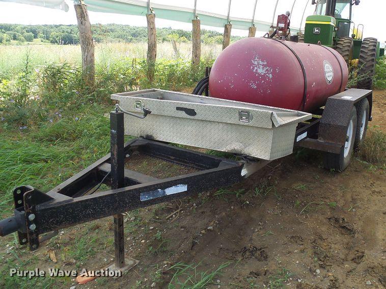 Woodworth propane tank trailer