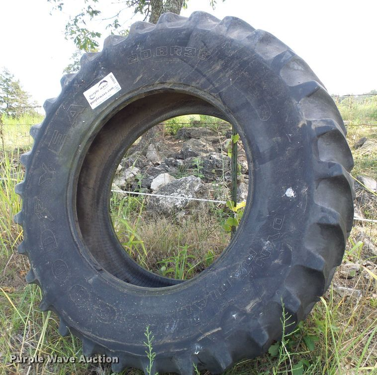 (2) 20.8R38 tires