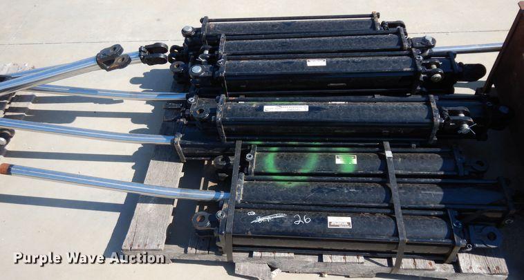 (12) hydraulic cylinders