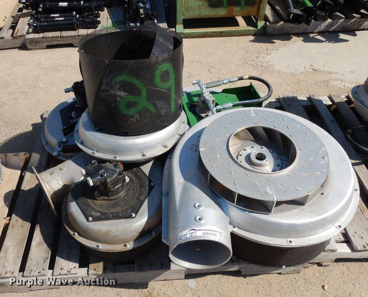 (5) hydraulic fans
