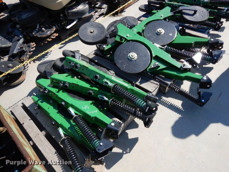 (10) double disk opener row units