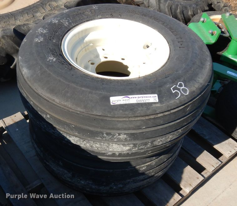 (2) 12.5L-15 tires and wheels
