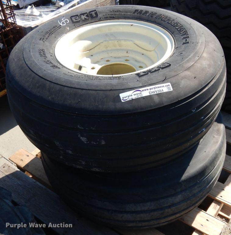 (2) 12.5L-15SL tires and wheels