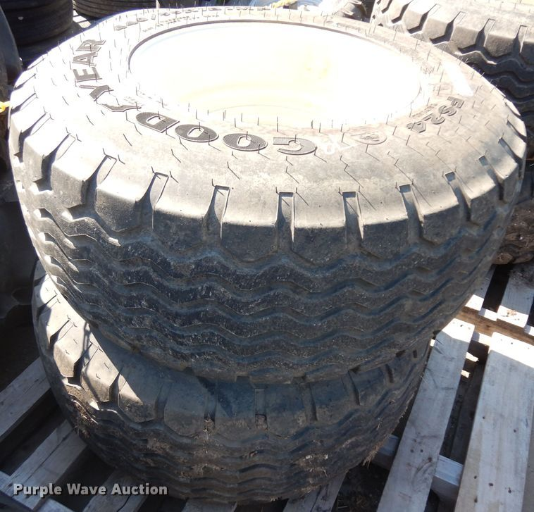 (2) 440/55R18 IMP tires and wheels